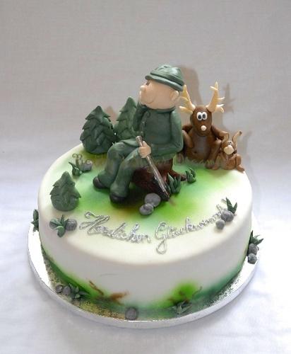 J ger torte backen s und motivtorten pinterest - Pinterest kuchen ...