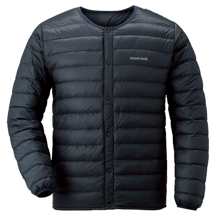 モンベル U.L.ダウン ラウンドネックジャケット//Black//12,096円(税込)//[Mサイズ]:身長165~175cm、胸囲90~95cm ※インナーにパーカーなど厚手のものを着ないならSチョイスがベスト