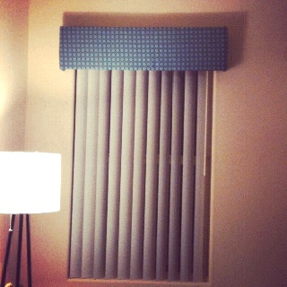Diy Box for covering top of blinds! | Home | Pinterest