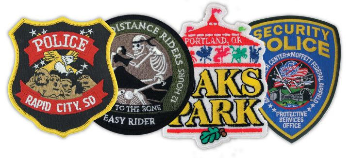 Custom Embroidered Patches | Custom Embroidered Patch Selection   | PinMart