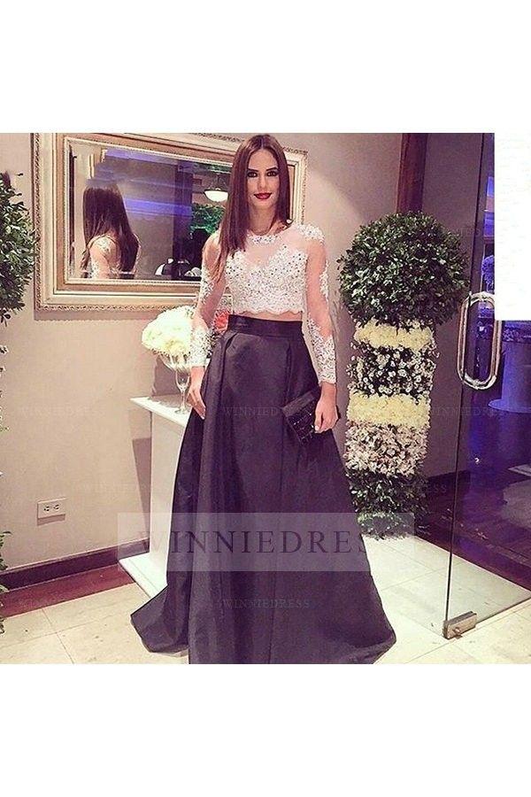 Mejores 230 imágenes de 2 Piece Prom Dresses en Pinterest | Vestidos ...