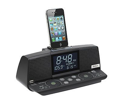 #Sunbeam cr1003-005 elite clock #radio am fm and ipod ipad #iphone docking statio,  View more on the LINK: 	http://www.zeppy.io/product/gb/2/151840626789/