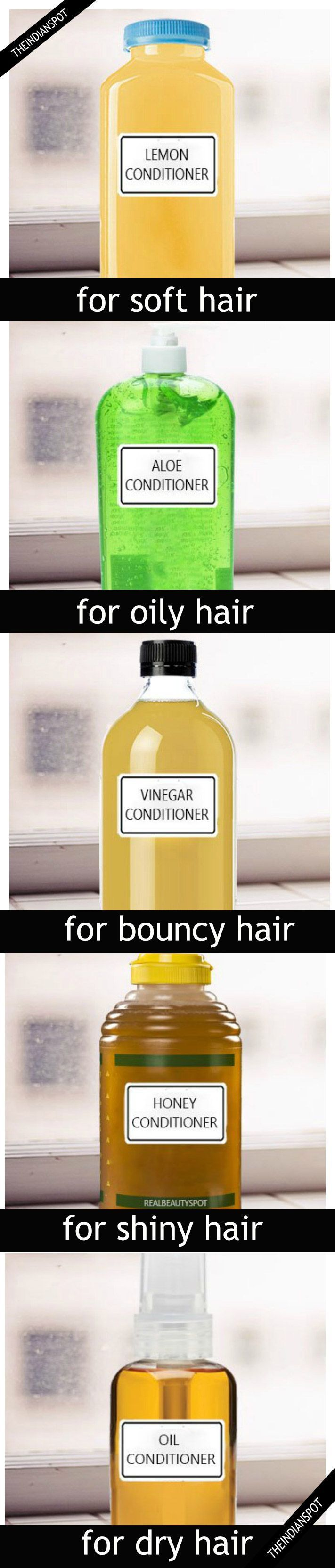 5 Natural DIY Hair Conditioner for All Hair Types #naturalskincare #skincareproducts #Australianskincare #AqiskinCare #australianmade