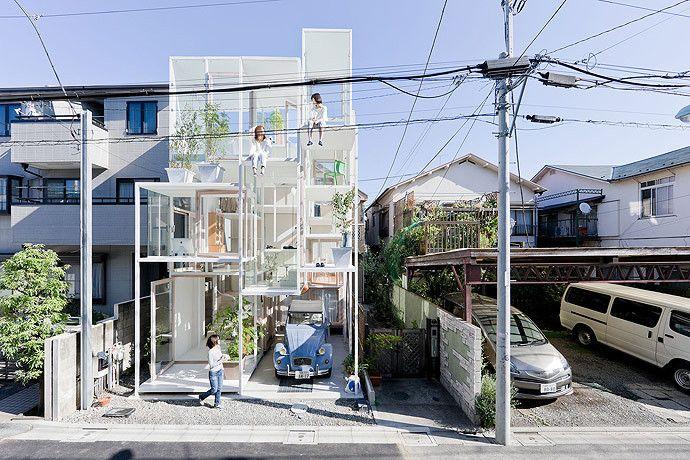 Gallery of House NA / Sou Fujimoto Architects - 1