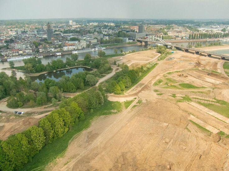 het werk in de Arnhemse uiterwaarden, ruimte voor de rivier