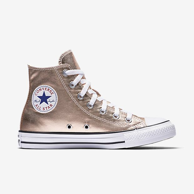 Converse Chuck Taylor, Chuck Taylors, High Tops, All Star, Metallic, Woman  Shoes, Stars, Wide Fit Women's Shoes, Women's Shoes