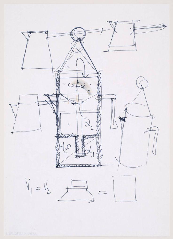 Aldo Rossi drawing