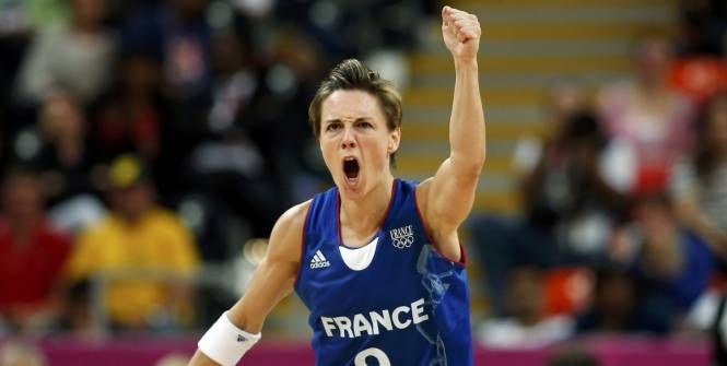 Cécile #Dumerc - Equipe de France de #Basketball/Brésil (73-58) - #JO #Londres2012