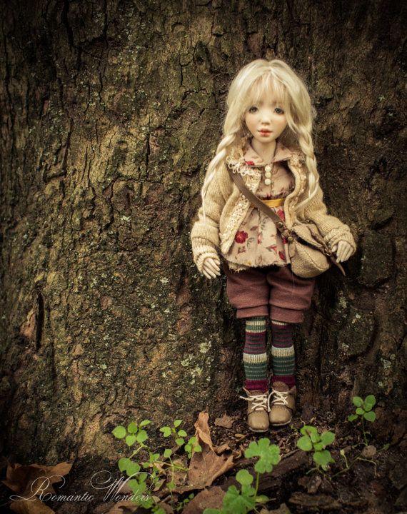Kassie. Handmade BJD doll by Romantic Wonders on Etsy