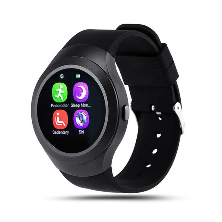 Elektronische Smart-uhr L6S Smart Monitor Edelstahl Runde SleepTracker Tragbare Geräte für Apple Androld Iphone Smartwatch //Price: $US $36.39 & FREE Shipping //     #smartuhren