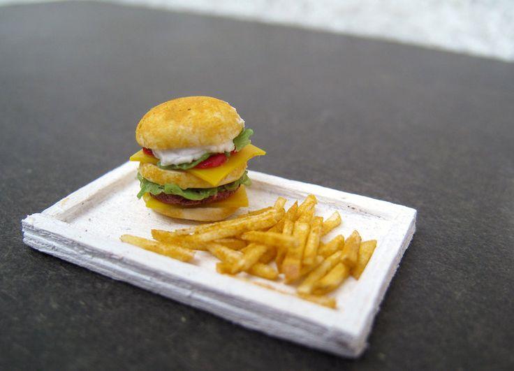 Fast food lunch by Nassae on DeviantArt
