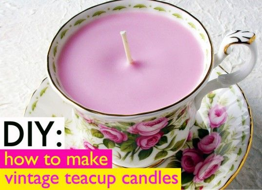 DIY Gift: Vintage Teacup Candles | Inhabitat - Sustainable Design Innovation, Eco Architecture, Green Building