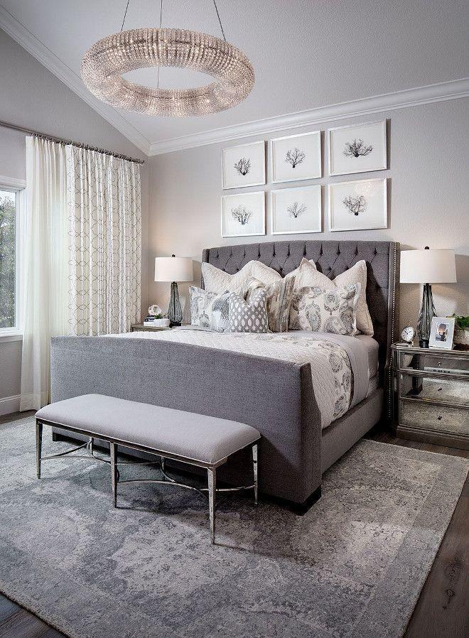 Modernes Schlafzimmer Grau Ideen #Badezimmer #Büromöbel #Couchtisch - Deko Für Schlafzimmer