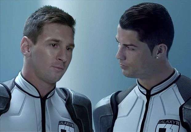 Football stars have time and again created magic on the screen to promote their brands