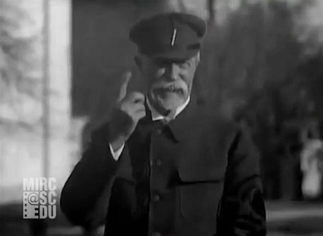 Na internetu se objevil záznam, který ukazuje, jak uměl anglicky první československý prezident Tomáš Garrigue Masaryk. Nahrávka z roku 1929 vznikla pro americkou společnost Fox Movietone News.