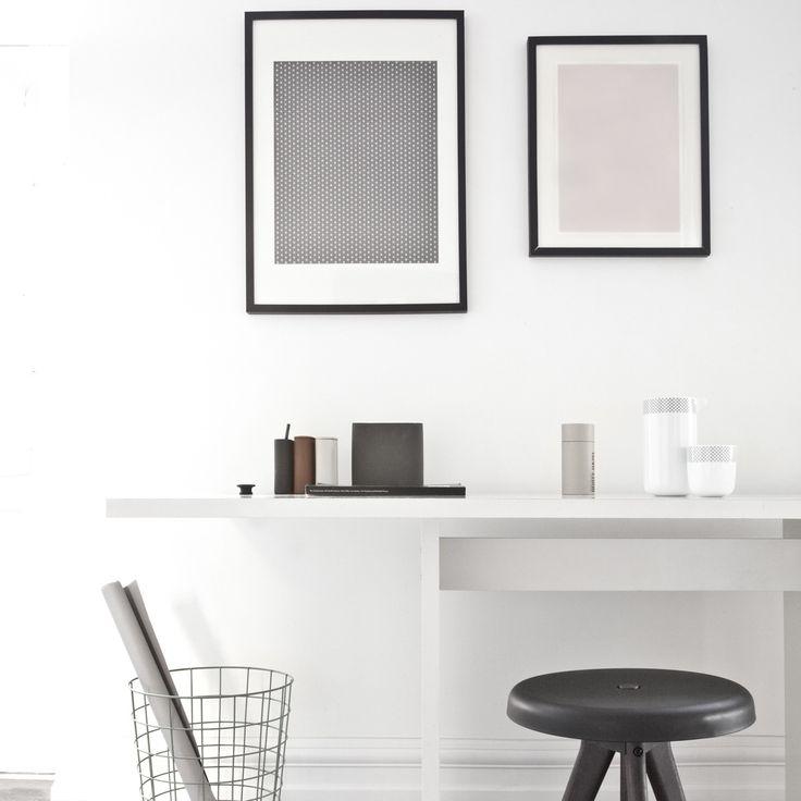 #design3000 Aufbewahrungsbehälter Phold / Papierkorb Wire Bin / Hocker Flip Around