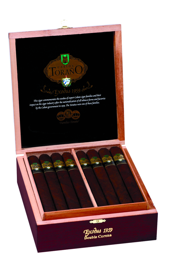 Share Carlos Torano Exodus 1959 Cuban Press Toro Cigars - Box of 24 Online. Free Shipping over $199. Check our Online Prices