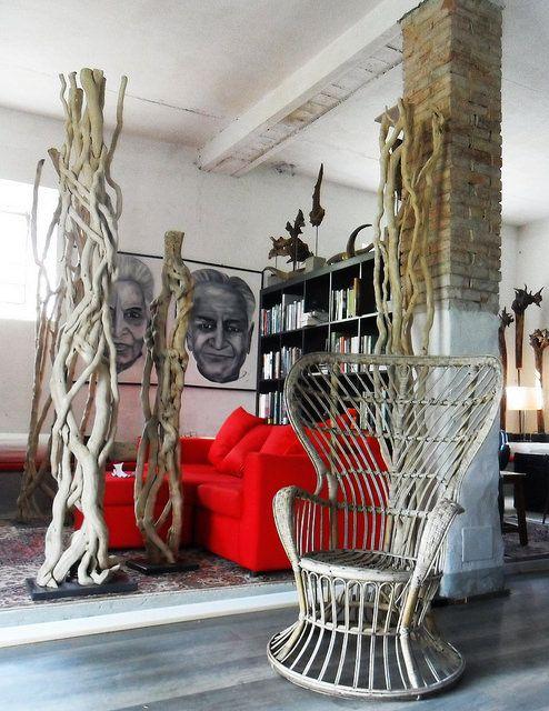 roots sculpture interior design