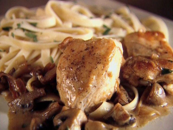 Chicken with Mustard Mascarpone Marsala Sauce recipe from Giada De Laurentiis via Food Network