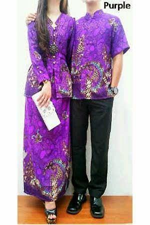 Busana Batik Tanah abang terbaru - Set Couple Batik HM0357