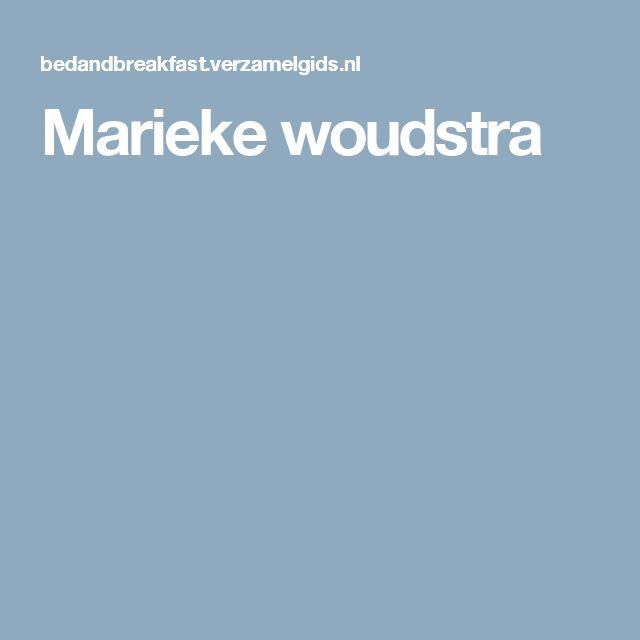 Marieke woudstra