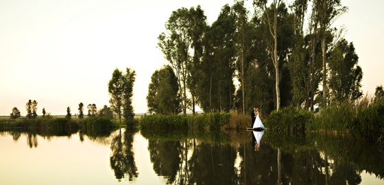 Oxbow Estate - water, gardens, beauty - this country wedding venue has it all
