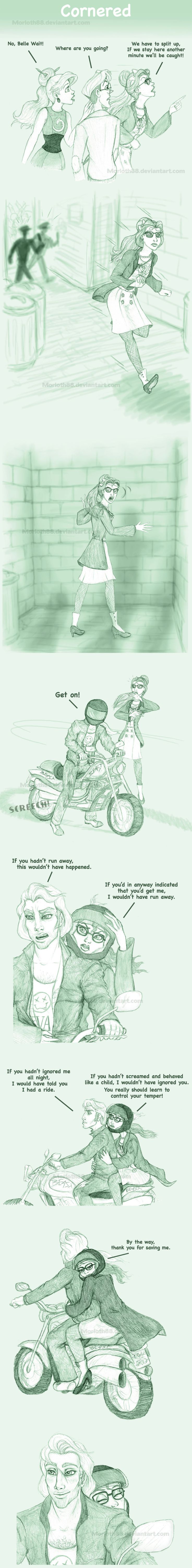 Comic clip #30;Cornered by Morloth88.deviantart.com on @DeviantArt