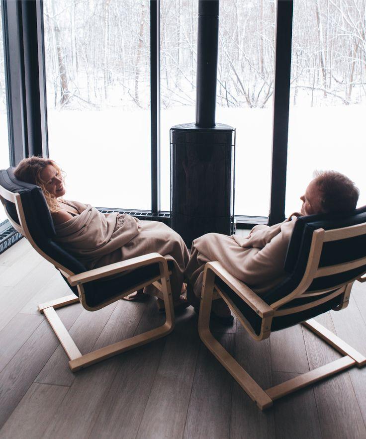 Strøm spa Nordique propose une expérience de détente authentique sur des sites bénéficiant d'un environnement d'une beauté naturelle exceptionnelle. Situés en bordure du lac des Battures à l'Île-des-Sœurs ou au pied du Mont-Saint-Hilaire, nos établissements vous offrent une atmosphère incomparable.