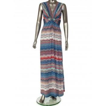 Ilse Jacobsen Blue Maxi Dress