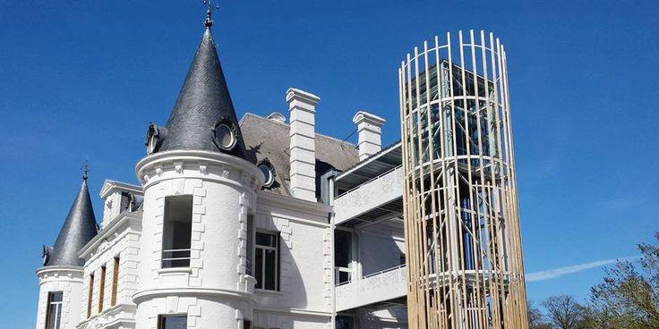 le château de Chevetogne in dit kasteel herhalen ze scenes die in klassieke boeken gebeuren. Zodat we ons gemakkelijk in het boek kunnen inleven.