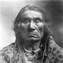 Chief Aneas Paul (also known as Big Knife or Ignace). Aneas was born in 1828 and served as chief of the Elmo-Dayton band of Kootenai from 1870 to 1900. His Iriquois father had been hired by David Thompson of the Northwest Company in 1811 to help Thompson explore Kootenai country.