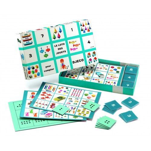 The toys bingo 60 years, 60 éves a bingó játék - LIMITÁLT fejlesztő játék 3-6 éves korig - Djeco
