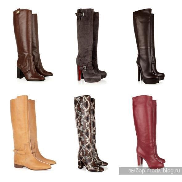 Деловая зимняя обувь женская