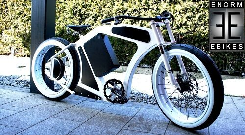 Watch this new electric-assist, 100km range bicycle in action. A bit of a wow.