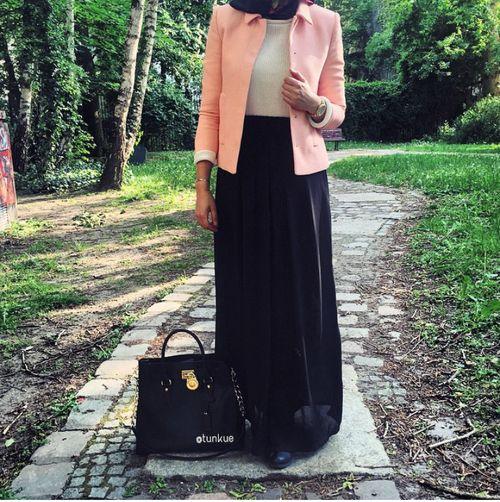 fashion, hijab girls, and хиджаб image