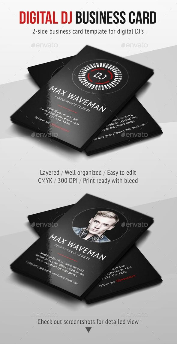 10 best Dj business card ideas images on Pinterest | Dj business ...