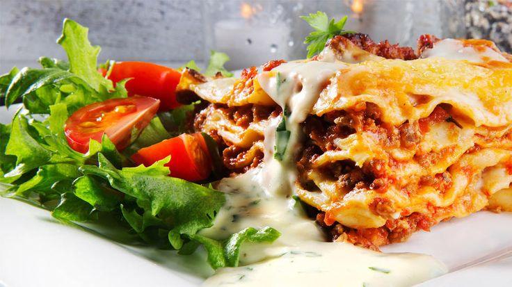 Lasagne med ostesaus veldig god basis oppskrift
