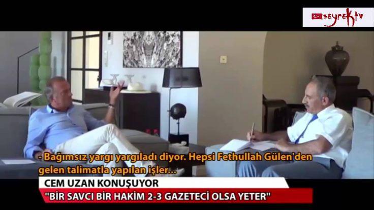 Cem Uzan'dan Fethullah Gülen hikayesi (seyreKtv)