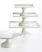 Square cake stands