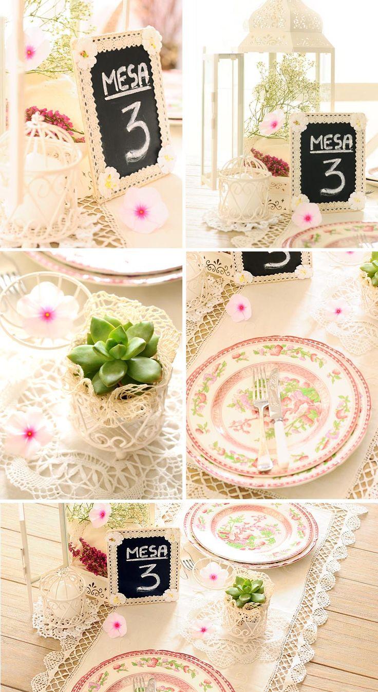 Como hacer un centro de mesa romantico con jaulas vintage