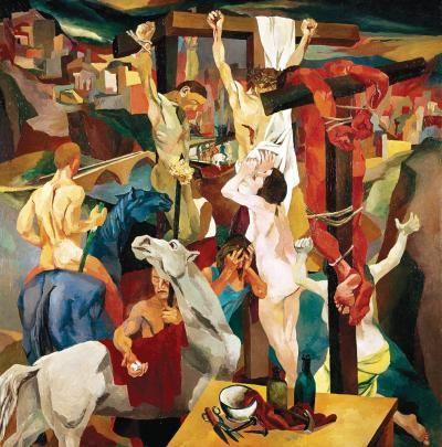 Renato Guttuso, Crucifixion 1941 | America Magazine
