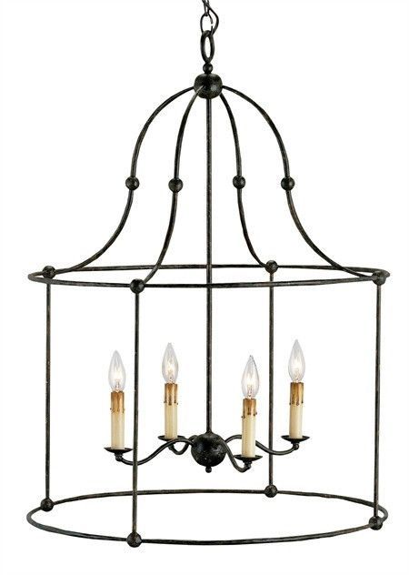 The Fitzjames Lantern is a perfect example of a simple form executed with the purity of a natural material - wrought iron. The hammered metal and hand-applied Mayfair finish call attention to the importance and beauty of this fundamental material. The classic, uncomplicated shape delivers presence with the strength of the lines. Free Shipping in the US. Usually leaves the warehouse within one week of placing order. PRODUCT NAME: Fitzjames Lantern Shop at Lovecup.com