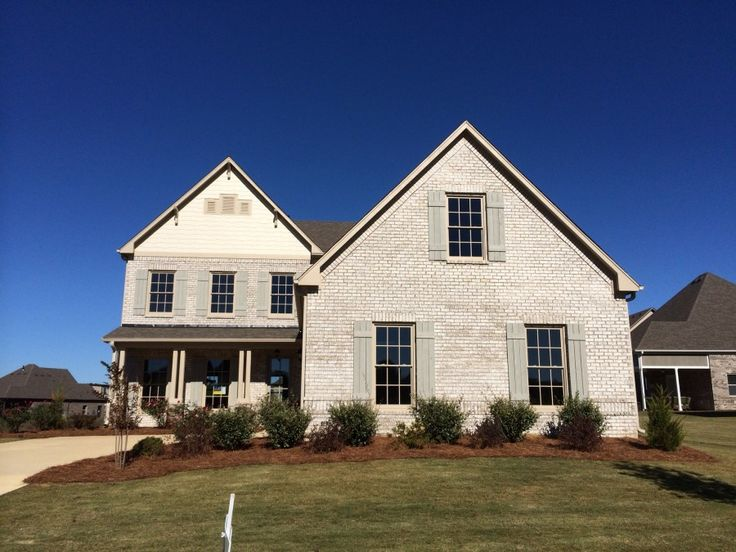 112 best brick and stone selections images on pinterest for Brick selection for houses