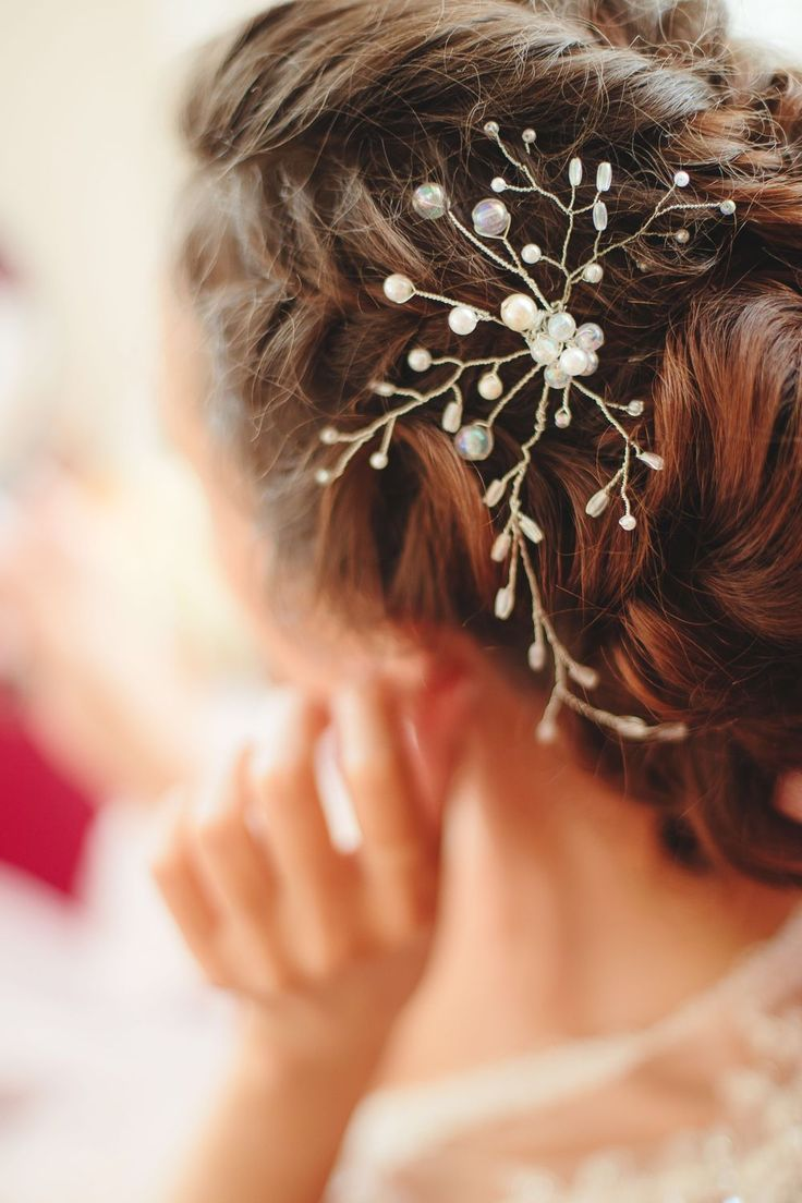 """Hair pin   Купить Шпилька """"цветок на счастье """" - шпильки для волос, шпильки для невесты, шпильки с цветами, шпилька"""