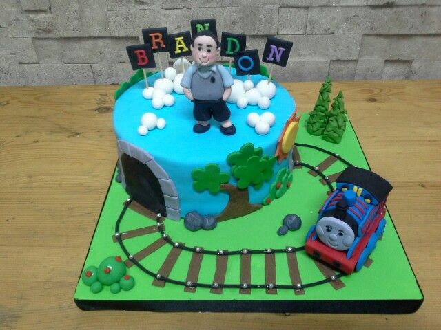 Thomas train cake for Brandon ♥