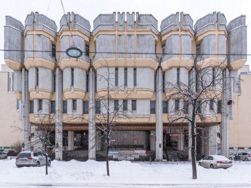Concrete Baroque from St. Petersburg:O. Gurevich / V. Zhukov: Hotel Rus St. Petersburg Russia 19801988 Photo: Konstantin Antipin 2016