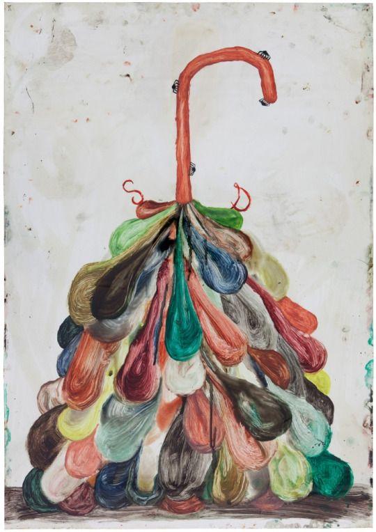 SEBASTIAN DACEY o.T. 100 x 70 cm