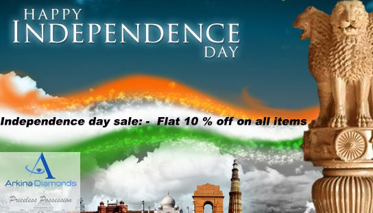 Happy Independence Day  Purchase our Independence Day special jewellery @www.arkinadiamonds.com  #Happy#independence#day#Happiness#forever#love#diamonds#bridal#jewellery#exclusive#Diamondjewellery #Diamonds #rings #pendants #studs #danglers #earrings #bracelets #lovebands #finejewellery#giftsomethingspecial #fancy #luxurygifts #classy#necklaces.