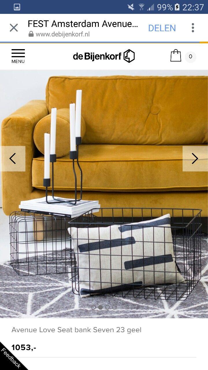 Mooi: 1 grote stoel in gave kleur