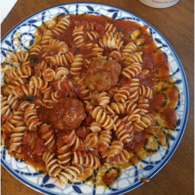 Cugine meatballs and rotini | mmm | Pinterest